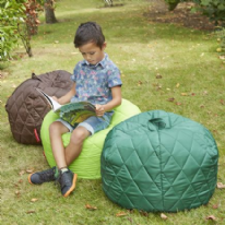 4 Pack Quilted Beanbags